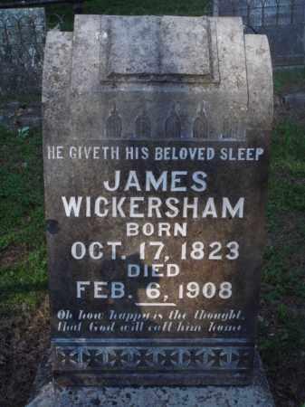 WICKERSHAM, JAMES - Marion County, Arkansas | JAMES WICKERSHAM - Arkansas Gravestone Photos
