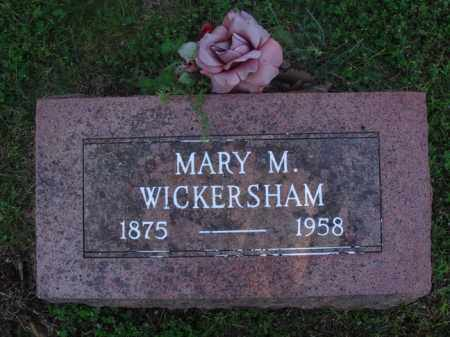 "WICKERSHAM, MARY MAGDELENE ""MOLLIE"" - Marion County, Arkansas 