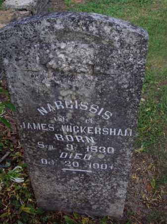 WICKERSHAM, NARCISSIS - Marion County, Arkansas | NARCISSIS WICKERSHAM - Arkansas Gravestone Photos