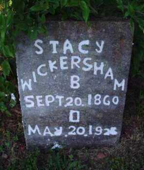WICKERSHAM, STACY - Marion County, Arkansas | STACY WICKERSHAM - Arkansas Gravestone Photos