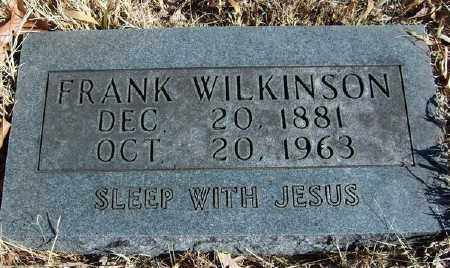 WILKINSON, FRANK - Marion County, Arkansas | FRANK WILKINSON - Arkansas Gravestone Photos