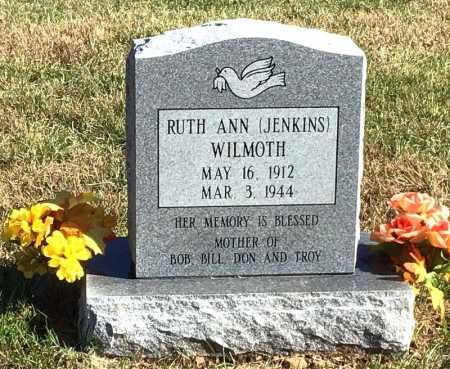 WILMOTH, RUTH ANN - Marion County, Arkansas | RUTH ANN WILMOTH - Arkansas Gravestone Photos