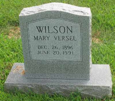 WILSON, MARY VERSEL - Marion County, Arkansas | MARY VERSEL WILSON - Arkansas Gravestone Photos
