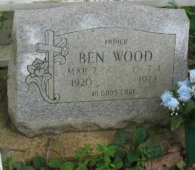WOOD, BEN - Marion County, Arkansas | BEN WOOD - Arkansas Gravestone Photos