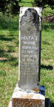 WOOD, DELTA A - Marion County, Arkansas | DELTA A WOOD - Arkansas Gravestone Photos