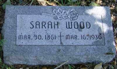WOOD, SARAH ANN - Marion County, Arkansas | SARAH ANN WOOD - Arkansas Gravestone Photos