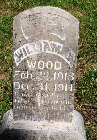 WOOD, WILLIAM J - Marion County, Arkansas | WILLIAM J WOOD - Arkansas Gravestone Photos