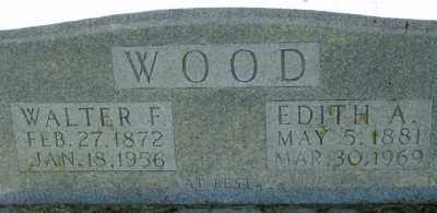 BRIGGS WOOD, EDITH A. - Marion County, Arkansas | EDITH A. BRIGGS WOOD - Arkansas Gravestone Photos