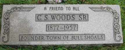 WOODS, C. S. SR. - Marion County, Arkansas | C. S. SR. WOODS - Arkansas Gravestone Photos