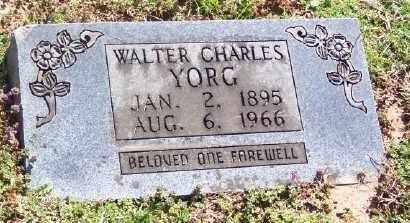 YORG, WALTER CHARLES - Marion County, Arkansas | WALTER CHARLES YORG - Arkansas Gravestone Photos