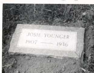 "BLACK YOUNGER, JOSEPHINE ""JOSIE"" - Marion County, Arkansas | JOSEPHINE ""JOSIE"" BLACK YOUNGER - Arkansas Gravestone Photos"