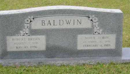 TOBIN BALDWIN, MARY - Miller County, Arkansas | MARY TOBIN BALDWIN - Arkansas Gravestone Photos