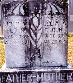 BLOUNT, LELIA ARKANSAS - Miller County, Arkansas | LELIA ARKANSAS BLOUNT - Arkansas Gravestone Photos