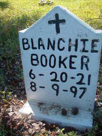 BOOKER, BLANCHIE - Miller County, Arkansas | BLANCHIE BOOKER - Arkansas Gravestone Photos