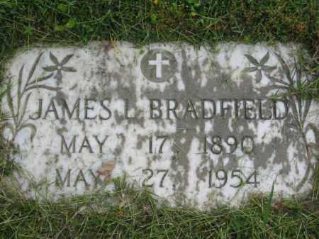 BRADFIELD, JAMES L. - Miller County, Arkansas | JAMES L. BRADFIELD - Arkansas Gravestone Photos