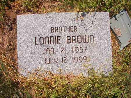 BROWN, LONNIE - Miller County, Arkansas | LONNIE BROWN - Arkansas Gravestone Photos