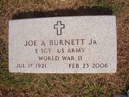 BURNETT, JR (VETERAN WWII), JOE A - Miller County, Arkansas | JOE A BURNETT, JR (VETERAN WWII) - Arkansas Gravestone Photos