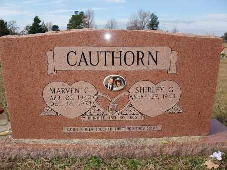CAUTHORN, MARVEN C. - Miller County, Arkansas | MARVEN C. CAUTHORN - Arkansas Gravestone Photos