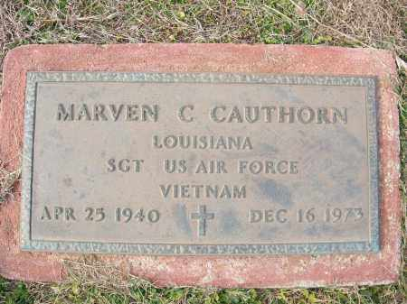 CAUTHORN (VETERAN VIET), MARVEN C - Miller County, Arkansas | MARVEN C CAUTHORN (VETERAN VIET) - Arkansas Gravestone Photos