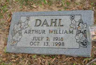 DAHL, ARTHUR WILLIAM - Miller County, Arkansas | ARTHUR WILLIAM DAHL - Arkansas Gravestone Photos