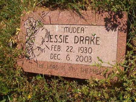 "DRAKE, JESSIE ""MUDEA"" - Miller County, Arkansas | JESSIE ""MUDEA"" DRAKE - Arkansas Gravestone Photos"