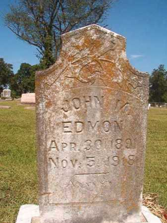 EDMON, JOHN M - Miller County, Arkansas | JOHN M EDMON - Arkansas Gravestone Photos