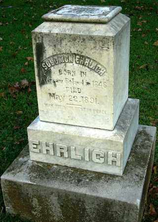 ERHLRICH, SOLOMON - Miller County, Arkansas | SOLOMON ERHLRICH - Arkansas Gravestone Photos