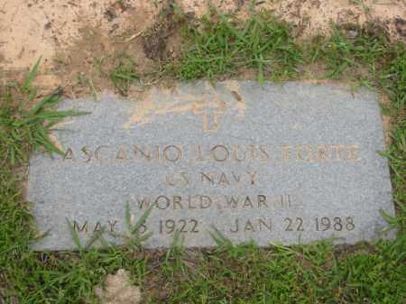 FORTE  (VETERAN WWII), ASCANIO  LOUIS - Miller County, Arkansas | ASCANIO  LOUIS FORTE  (VETERAN WWII) - Arkansas Gravestone Photos