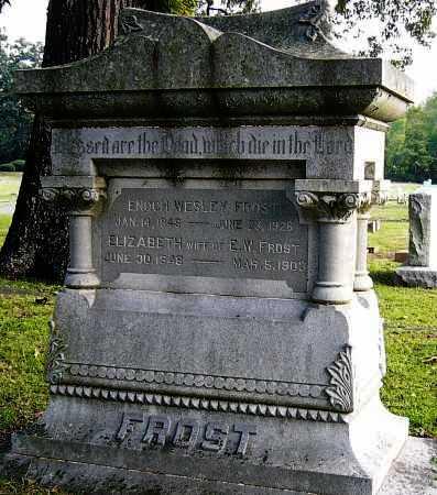 WESLEY FROST, ENOCH - Miller County, Arkansas | ENOCH WESLEY FROST - Arkansas Gravestone Photos