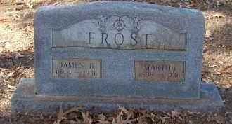FROST, JAMES BENJAMIN - Miller County, Arkansas | JAMES BENJAMIN FROST - Arkansas Gravestone Photos