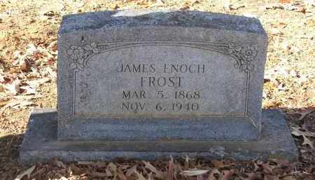 FROST, JAMES ENOCH - Miller County, Arkansas | JAMES ENOCH FROST - Arkansas Gravestone Photos