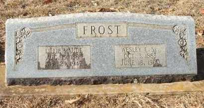 FROST, LILLIE MAUDE - Miller County, Arkansas | LILLIE MAUDE FROST - Arkansas Gravestone Photos