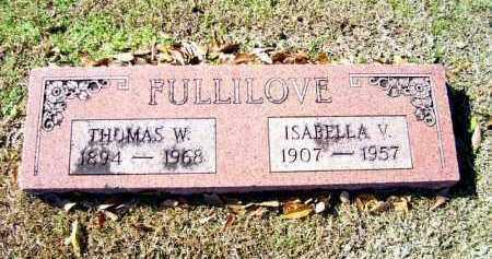 FULLILOVE, ISABELLA V. - Miller County, Arkansas | ISABELLA V. FULLILOVE - Arkansas Gravestone Photos