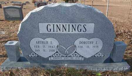 GINNINGS, ARTHUR E. - Miller County, Arkansas | ARTHUR E. GINNINGS - Arkansas Gravestone Photos
