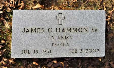 HAMMON, SR (VETERAN KOR), JAMES C - Miller County, Arkansas | JAMES C HAMMON, SR (VETERAN KOR) - Arkansas Gravestone Photos