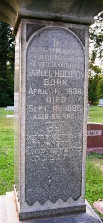 HEILBRON, SAMUEL - Miller County, Arkansas | SAMUEL HEILBRON - Arkansas Gravestone Photos