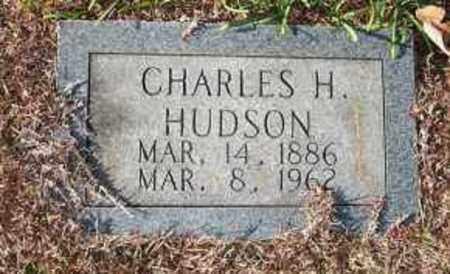 HUDSON, CHARLES H. - Miller County, Arkansas | CHARLES H. HUDSON - Arkansas Gravestone Photos