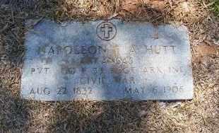 HUTT  (VETERAN CSA), NAPOLEON F. A. - Miller County, Arkansas | NAPOLEON F. A. HUTT  (VETERAN CSA) - Arkansas Gravestone Photos