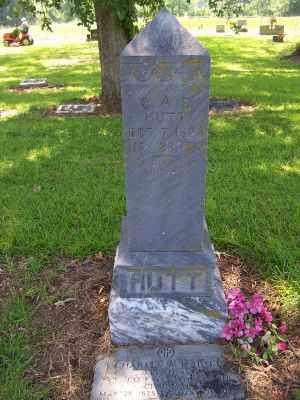 HUTT, CHARLES A. F. - Miller County, Arkansas | CHARLES A. F. HUTT - Arkansas Gravestone Photos