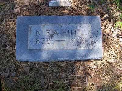 HUTT, NAPOLEON  F. A. - Miller County, Arkansas | NAPOLEON  F. A. HUTT - Arkansas Gravestone Photos