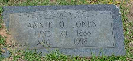 JONES, ANNIE O - Miller County, Arkansas | ANNIE O JONES - Arkansas Gravestone Photos
