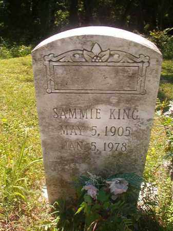 KING, SAMMIE - Miller County, Arkansas | SAMMIE KING - Arkansas Gravestone Photos
