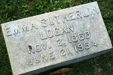 SUTHERLIN LOGAN, EMMA - Miller County, Arkansas | EMMA SUTHERLIN LOGAN - Arkansas Gravestone Photos