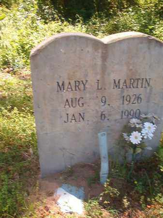 MARTIN, MARY L - Miller County, Arkansas | MARY L MARTIN - Arkansas Gravestone Photos