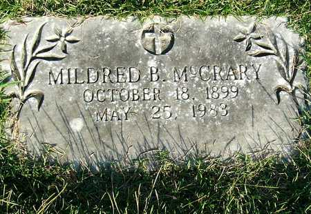 MCCRARY, MILDRED B. - Miller County, Arkansas | MILDRED B. MCCRARY - Arkansas Gravestone Photos
