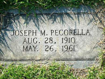 PECORELLA, JOSEPH M. - Miller County, Arkansas | JOSEPH M. PECORELLA - Arkansas Gravestone Photos