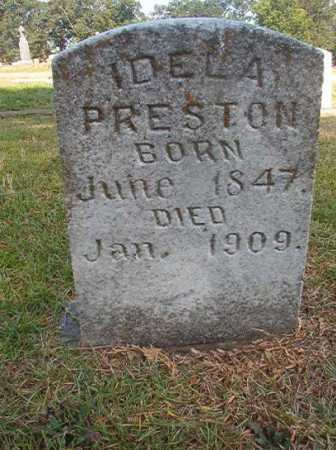 PRESTON, IDELA - Miller County, Arkansas | IDELA PRESTON - Arkansas Gravestone Photos