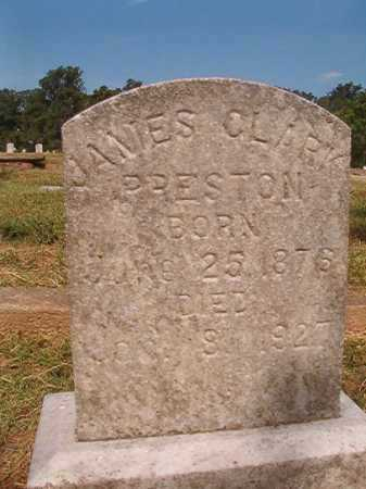 PRESTON, JAMES CLARK - Miller County, Arkansas | JAMES CLARK PRESTON - Arkansas Gravestone Photos