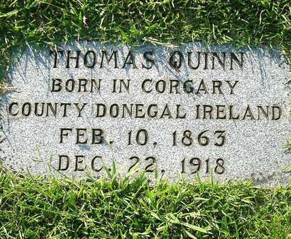 QUINN, THOMAS - Miller County, Arkansas | THOMAS QUINN - Arkansas Gravestone Photos