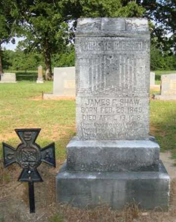 SHAW  (VETERAN CSA), JAMES - Miller County, Arkansas | JAMES SHAW  (VETERAN CSA) - Arkansas Gravestone Photos